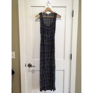 Joie Boho Bohemian Maxi Dress Printed Summer